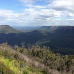 The beautiful Blue Mountains of Australia